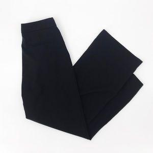 Everlane : Wide Leg Black Wool Pants Size 2